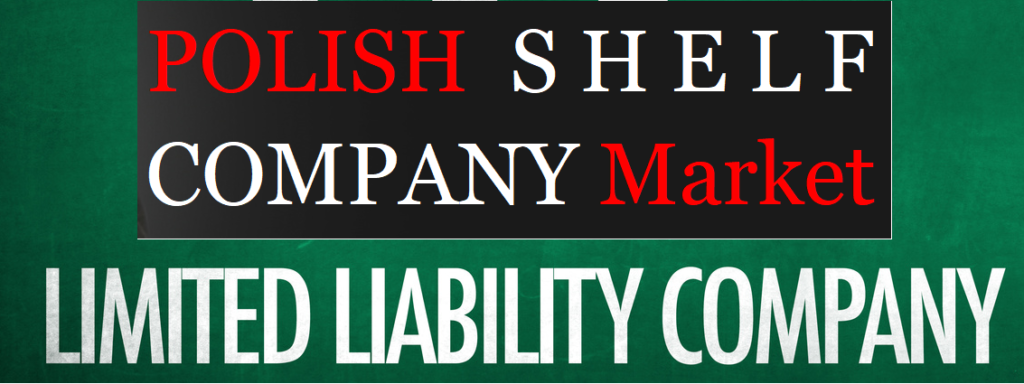 Special offer for Polish shelf companies in Poland in the Polish Shelf Company Market